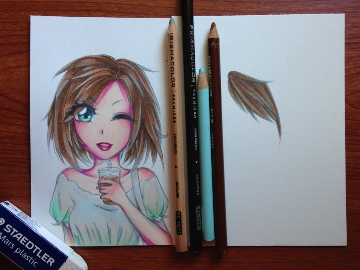 Marvelous Anime Colored Pencil Tutorials Tutorial: How To Color Manga Hair With Colored Pencils | Videos In Image