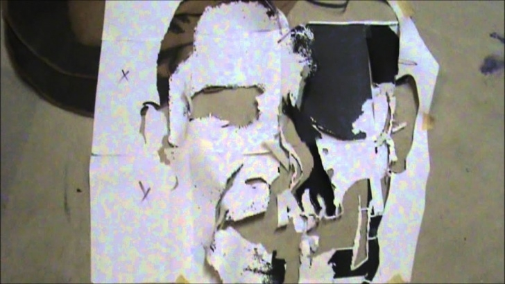 Marvelous Best Stencil Artists Simple How To Make A Big Graffiti Stencil 3 Feet And Up Pics
