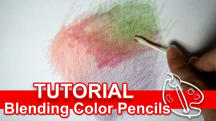 Marvelous Blending Colored Pencils With Baby Oil Simple Tutorial: Blending Colored Pencils W Alcohol Pic