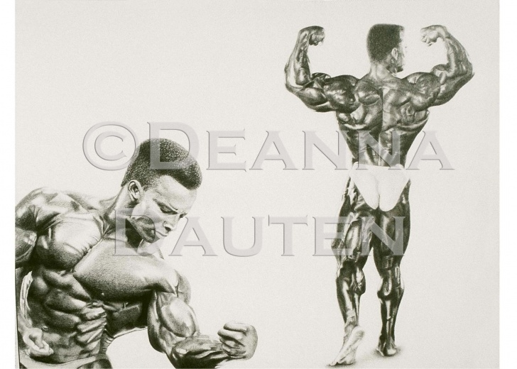 Marvelous Bodybuilder Pencil Sketch Simple Pencil Drawing-Bodybuilder Shawn Ray | My Artwork In 2019 | Pencil Picture