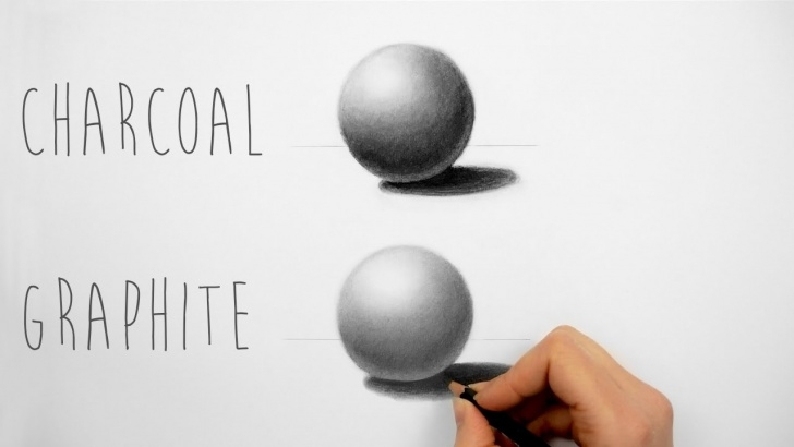 Marvelous Charcoal Pencil Shading Free Best Way To Practice Shading With Charcoal And Graphite Pencils - Draw A  Sphere Pics