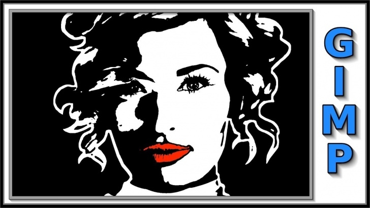 Marvelous Color Stencil Art for Beginners Gimp: How To Make A Black And White Stencil From A Color Photo Pictures