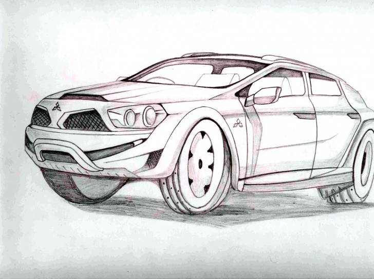 Marvelous Cool Car Drawings In Pencil Easy Cool Pencil Drawings Of Cars Cool Easy Penc | Car Drawing :) | Cool Image