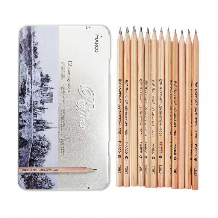 Marvelous Different Pencils For Drawing Lessons Us $5.94 15% Off|Marco Drawing Art Pencil Kit 12 Pcs Pen Tip Of Different  Hardness For Sketching Art Creation 3H 2H H Hb 2B 3B 4B 5B 6B 7B 8B 9B-In Images