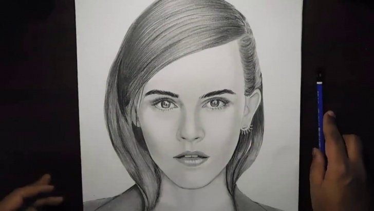 Marvelous Emma Watson Pencil Drawing Lessons Emma Watson - Pencil Sketch ( Timelapse) Picture