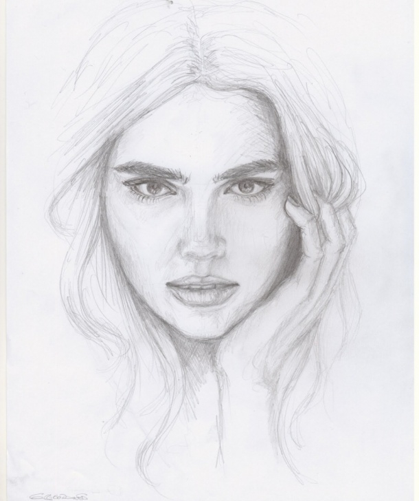 Marvelous Face Pencil Drawing Lessons Pencil Sketch Face Drawing And Human Pencil Drawings Human Face Image