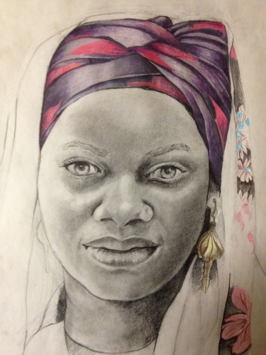 Marvelous Graphite And Colored Pencil Courses Graphite-Colored Pencil By Anna Cameron Krenselewski | Artist Picture