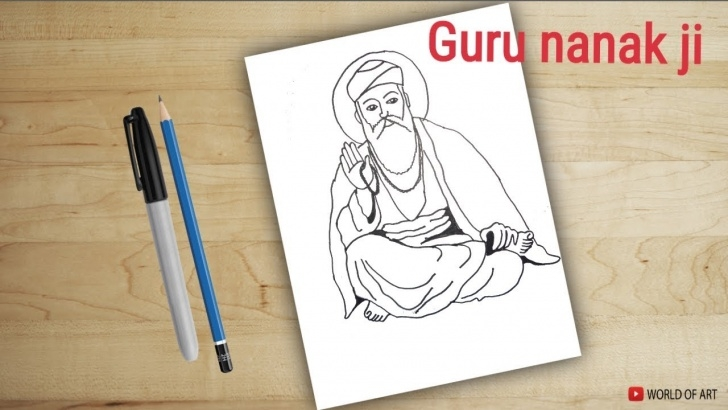 Marvelous Guru Purnima Pencil Sketch Techniques for Beginners Guru Drawing At Paintingvalley | Explore Collection Of Guru Drawing Picture