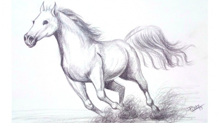 Marvelous Horse Pencil Shading Techniques How To Draw A Horse Step By Step - Pencil Shading Drawing - Youtube Pic