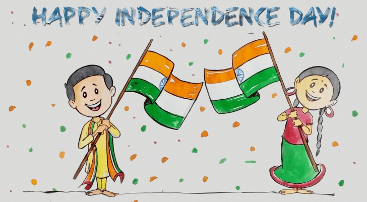 Marvelous Independence Day Pencil Drawing Step by Step Independence Day Pictures 2016, Drawing, Cartoon Pictures On 15 Picture