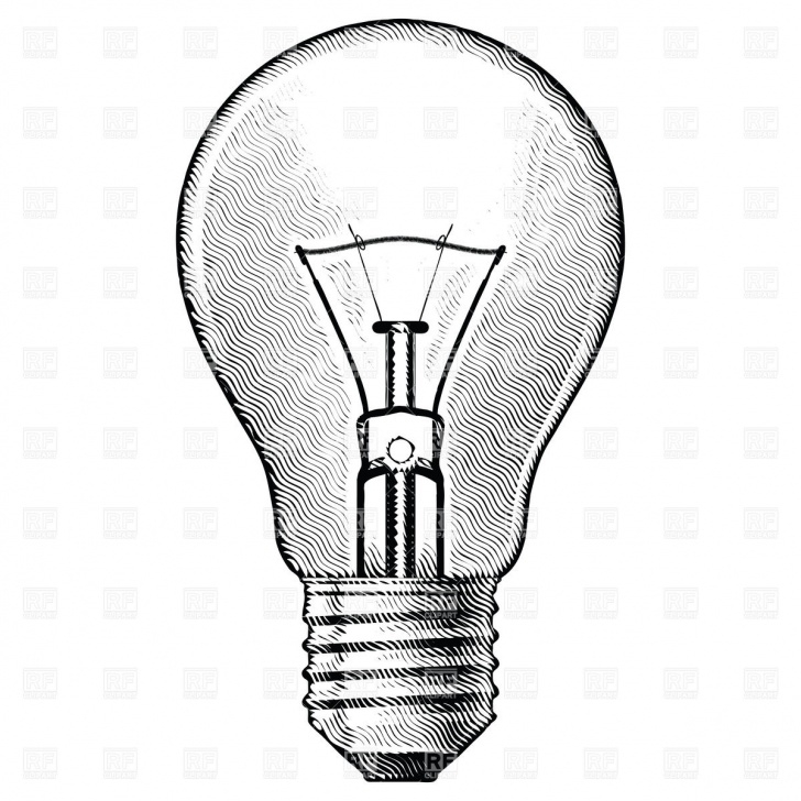 Marvelous Light Bulb Pencil Drawing Step by Step Light Bulb Pencil Drawing | Free Download Best Light Bulb Pencil Pics