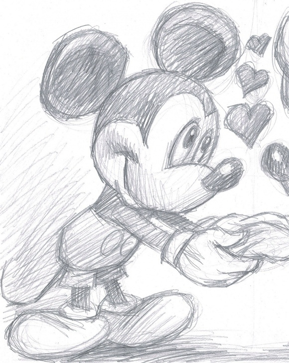 Marvelous Minnie Mouse Pencil Drawing for Beginners Minnie Mouse Pencil Drawing At Paintingvalley | Explore Photos