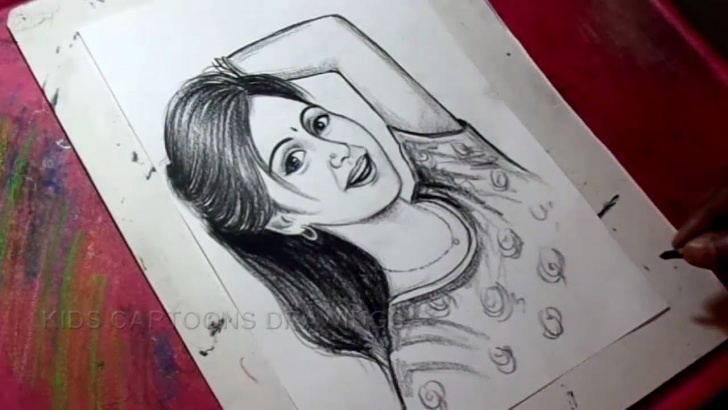 Pencil Shading Drawing For Kids