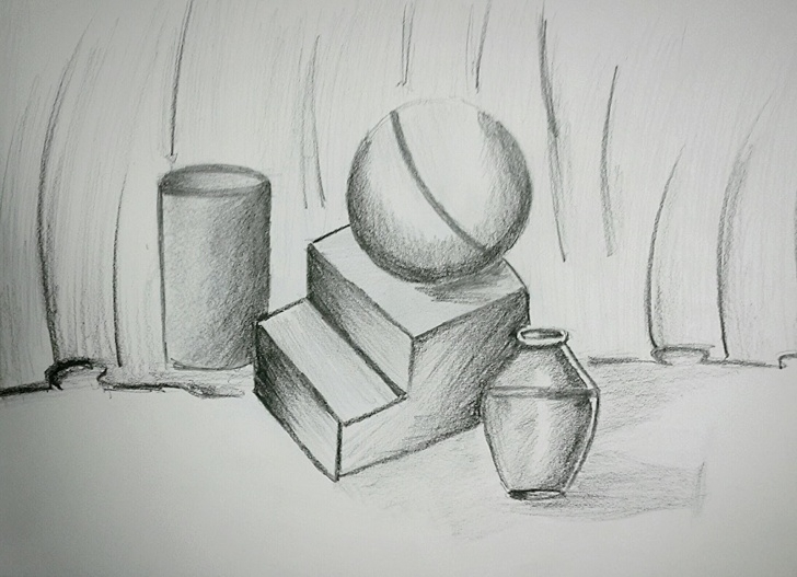 Marvelous Pencil Shading Objects Tutorials Thanush.kr: Object; Drawing Pencil Shading Pictures