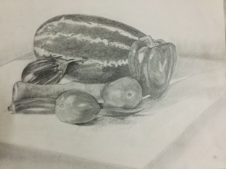 Marvelous Pencil Shading Of Vegetables Ideas Vegetables #pencil Shading | Art..!! In 2019 | Pencil Shading Photos