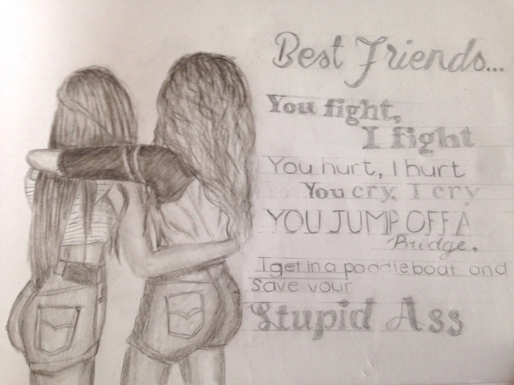 Marvelous Pencil Sketch Of Friendship for Beginners Pencil Sketch Images Of Friendship And Pencil Sketchesfriends Images