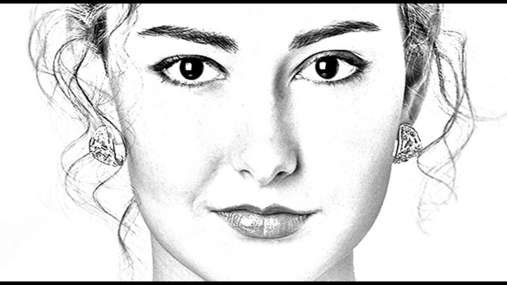 Marvelous Pencil Sketch Photoshop Tutorial Photoshop Tutorial: How To Transform Photos Into Gorgeous, Pencil Drawings Picture