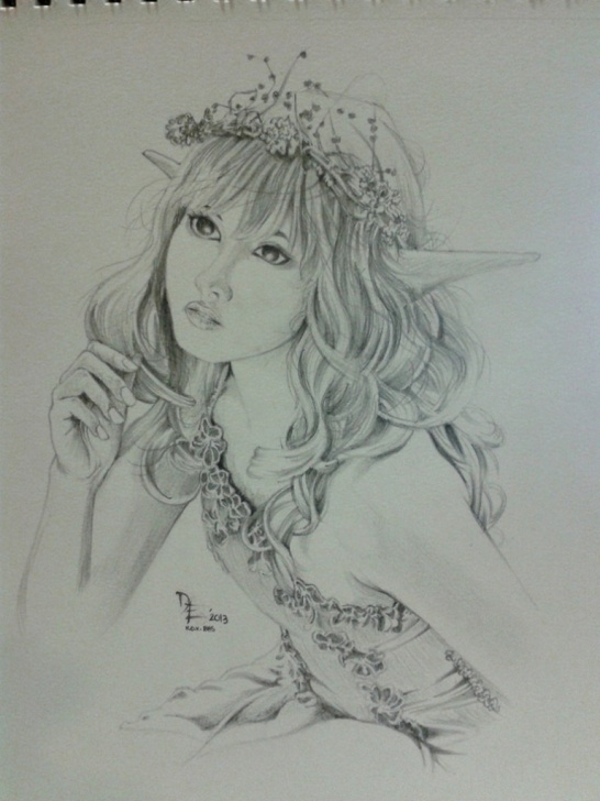 Marvelous Pencil Sketches Of Fairies And Angels Courses Fairies Paintings Search Result At Paintingvalley Photo