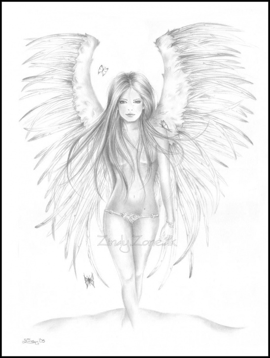 Marvelous Pencil Sketches Of Fairies And Angels Tutorials Pencil Drawings Of Angels - Google Search | Art ♥ | Angel Drawing Pic