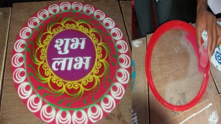 Rangoli Design Stencils Online