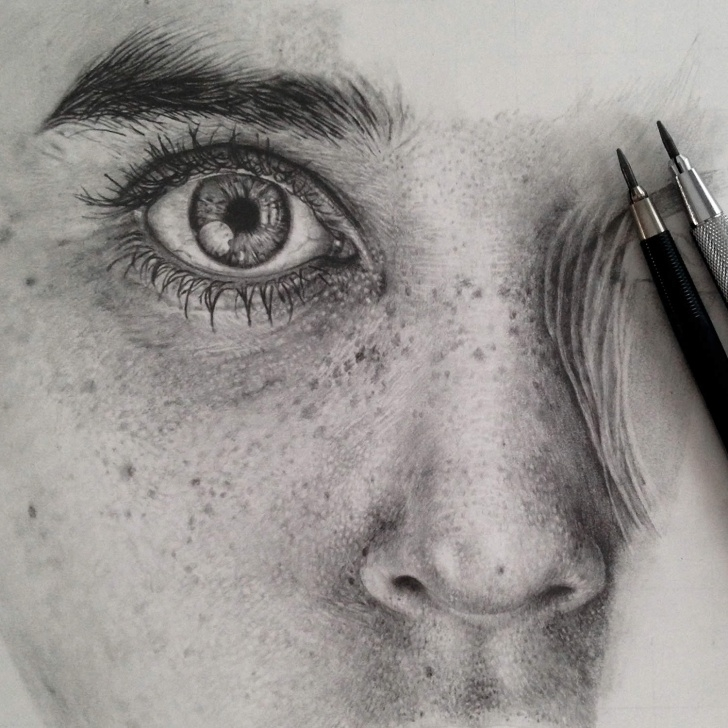 Marvelous Realistic Graphite Drawings Ideas Stunning Photo-Realistic Graphite Drawings By Monica Lee | Colossal Image