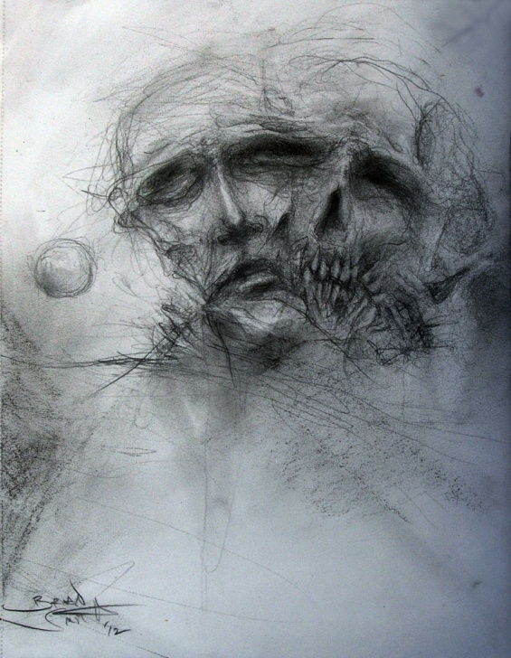 Marvelous Scary Pencil Drawings Courses Scary Sketches At Paintingvalley | Explore Collection Of Scary Images
