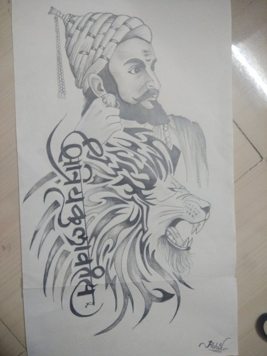 Marvelous Shivaji Maharaj Pencil Drawing Techniques for Beginners Shivaji Maharaj Sketch At Paintingvalley | Explore Collection Of Pics