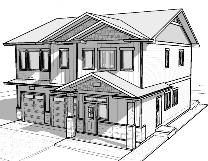 Marvelous Simple Pencil Drawings Of Houses Easy Simple White House Drawing - Gallery | Things To Draw | Dream House Pictures