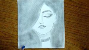 Marvelous Simple Pencil Drawings Tutorials Simple Pencil Drawing - Cute Drawings Of A Girls Picture Easy Pic