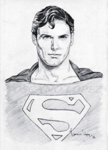 Marvelous Superman Pencil Sketch Courses Christopher Reeve - Superman / Pencil Portrait | Drawings | Pencil Image