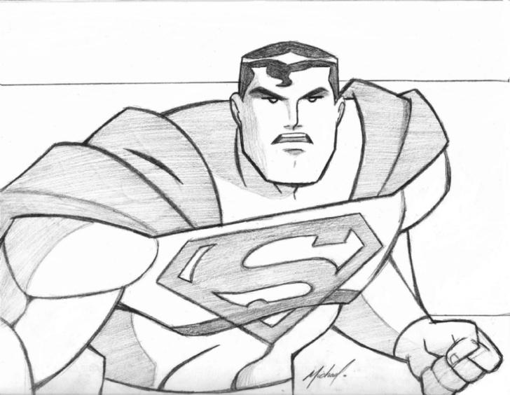 Marvelous Superman Pencil Sketch Tutorial Superman Pencil Sketch And Drawings Of Superman Superman Pencil Pictures