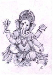Marvelous Vinayagar Pencil Sketch Tutorials Pencil Sketch Of Lord Ganesha | Sketches That Inspire In 2019 Pics