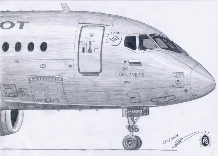 Most Inspiring Airplane Pencil Drawing for Beginners Pencil Drawings Of Aircraft By An Amateur Artist - English Russia Image