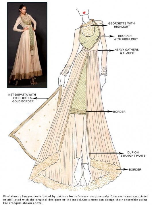 Most Inspiring Anarkali Dress Pencil Sketch Courses Menlo Park | Bollywood/indian Part 2 | Fashion Illustration Dresses Pic