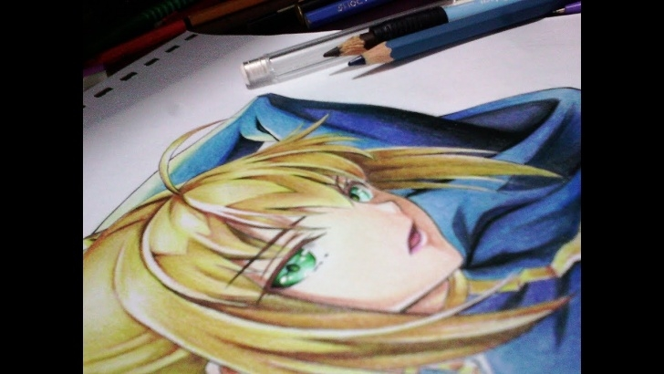 Most Inspiring Anime Colored Pencil Simple How To Color Skin Using Colored Pencils | Anime Drawing Tutorial Image