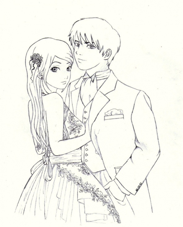 Most Inspiring Anime Love Sketch Simple Free Cartoon Love Couple To Draw, Download Free Clip Art, Free Clip Pic