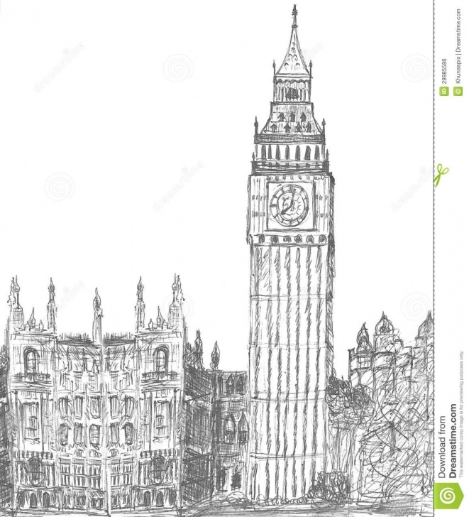 Most Inspiring Big Ben Pencil Drawing Step by Step Sketching Of Big Ben London Stock Illustration - Illustration Of Photos