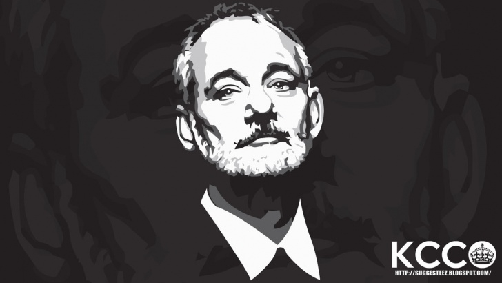 Most Inspiring Bill Murray Stencil Courses 49+] Bill Murray Kcco Wallpaper On Wallpapersafari Pic