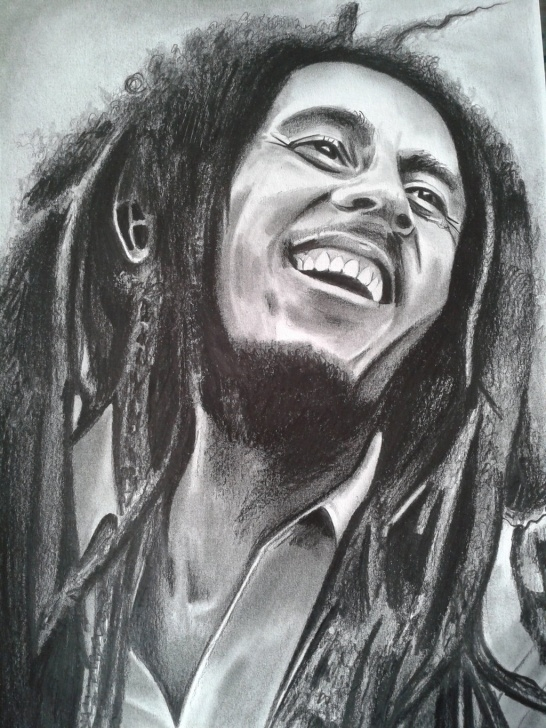Most Inspiring Bob Marley Pencil Sketch Easy Bob Marley Paintings Search Result At Paintingvalley Photo