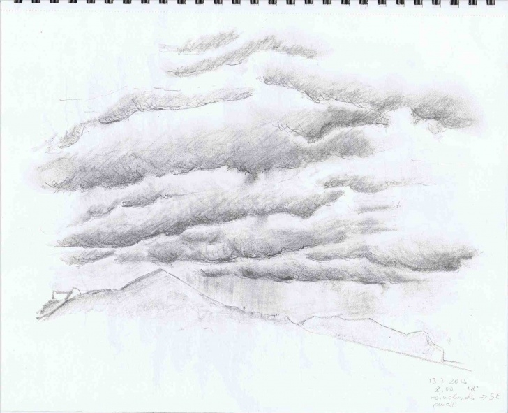 Most Inspiring Cloud Pencil Drawing Easy Drawing Clouds With Pencil At Paintingvalley | Explore Photo