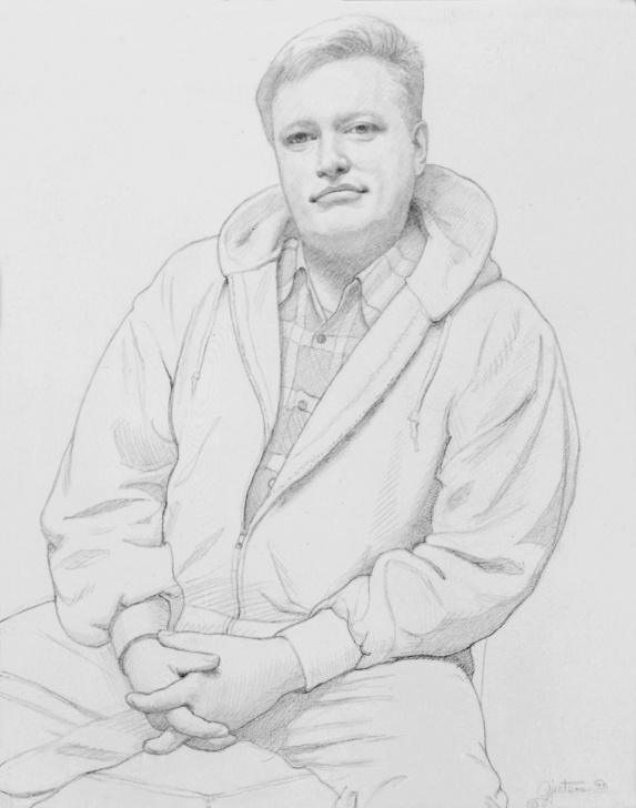 David Hockney Pencil Drawings