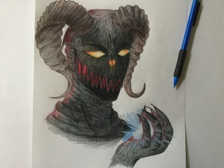 Most Inspiring Demon Pencil Drawing Techniques for Beginners Demon Pencil Drawing By Reality-Twister On Deviantart Image