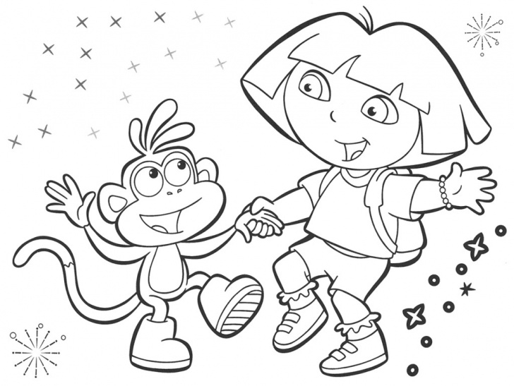Most Inspiring Dora Pencil Drawing Tutorial Dora The Explorer Sketch At Paintingvalley | Explore Collection Image