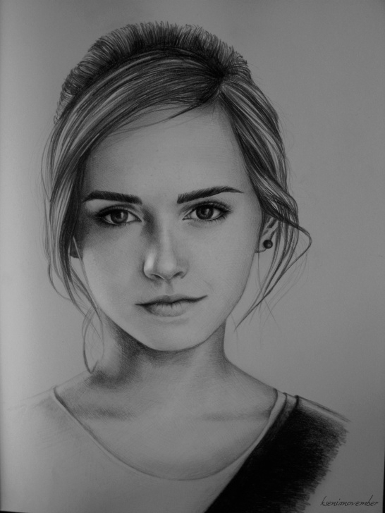 Most Inspiring Emma Watson Pencil Sketch Techniques Emma Watson Sketch At Paintingvalley | Explore Collection Of Pictures