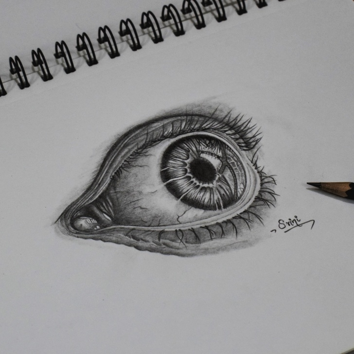 Most Inspiring Eye Pencil Art for Beginners Drawing An Eye – Pencil Art – Creativentechno Images