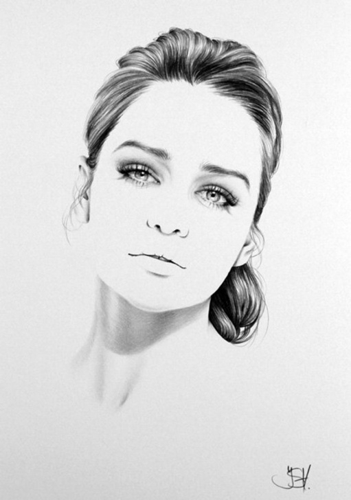 Most Inspiring Fine Pencil Art Techniques Emilia Clarke Pencil Drawing Fine Art Portrait Print Hand Signed Photos