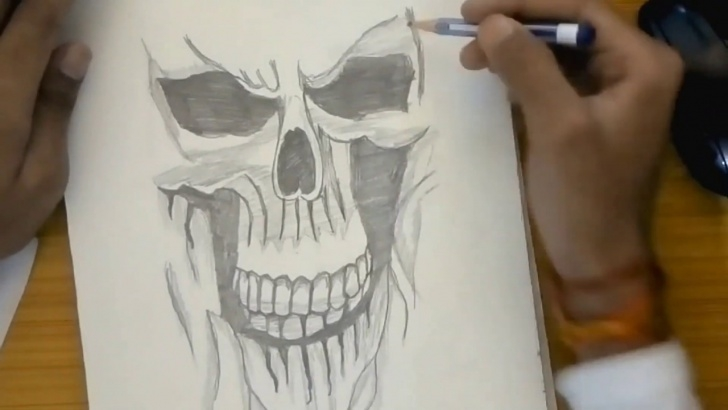 Most Inspiring Ghost Pencil Drawing Tutorial 3D Pencil Sketch Ghost Pictures
