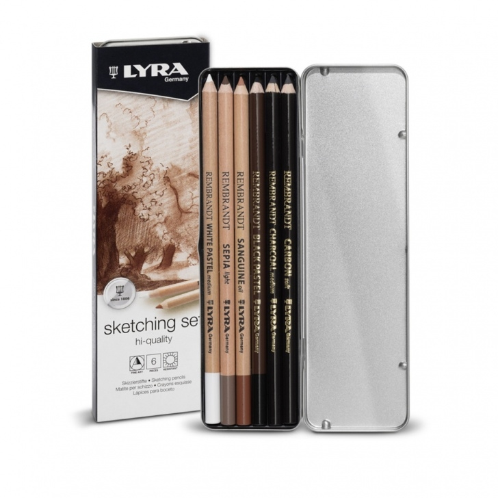 Most Inspiring Lyra Art Pencils Simple Lyra Rembrandt Sketching Set Basic - Fila South Africa Image