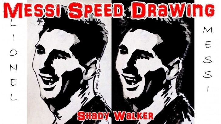 Most Inspiring Messi Stencil Art Tutorial Messi Speed Drawing ||Stencil Graffiti Art|| Pictures