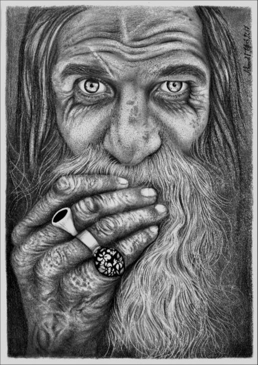 Most Inspiring Old Man Pencil Sketch Courses Old Man Pencil Drawing By Mejbriart On Deviantart Photo